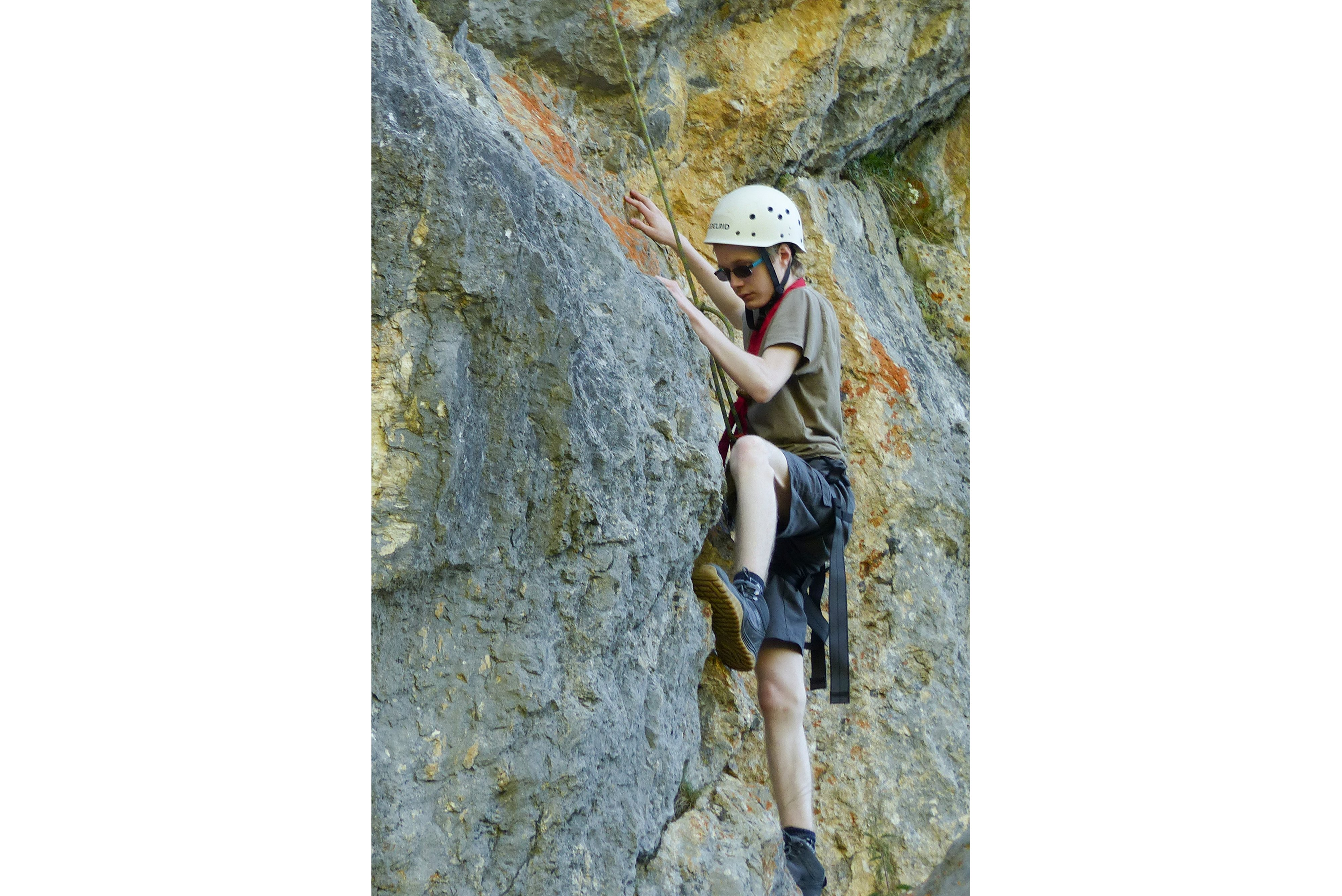 Sommerfahrt 2016 - Klettern